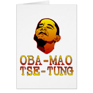 Oba Mao Tse Tung Card