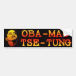 Oba Mao Zedong Etiqueta De Parachoque