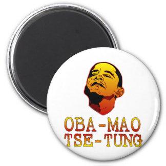 Oba Mao Zedong Imán Redondo 5 Cm