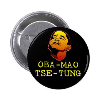 Oba Mao Zedong Pin Redondo 5 Cm