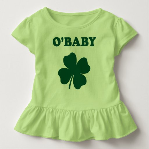 O Baby Funny St Patrick s Day Green Baby T Shirt