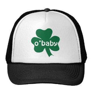 O'Baby Shamrock Irish Baby Trucker Hat
