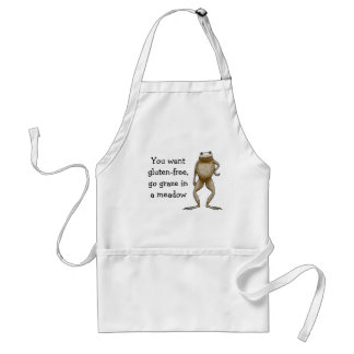 Obadiah Toad Gluten-Free Template Adult Apron