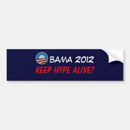 Obama08 Pegatina Para Auto