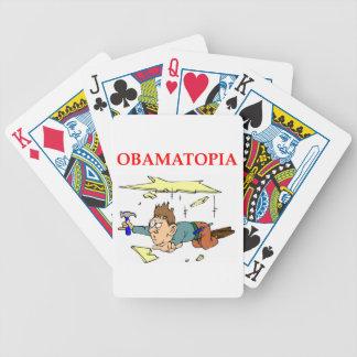 OBAMA12.png Bicycle Playing Cards