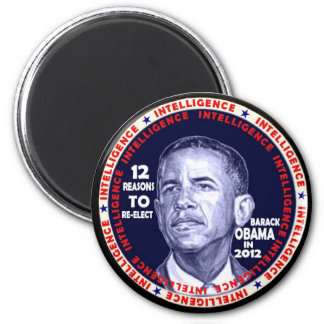 Obama12 reasons button magnet
