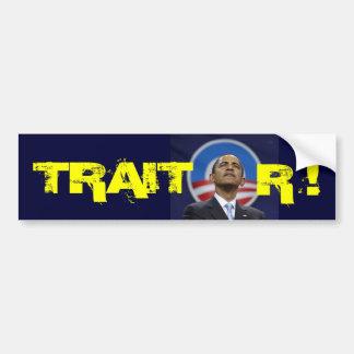 obama1, TRAIT, R ! Car Bumper Sticker
