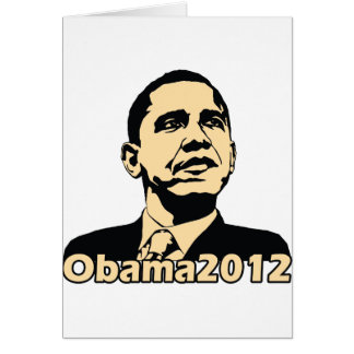 Obama2012 Card