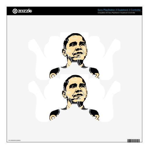 Obama2012 Skin For PS3 Controller
