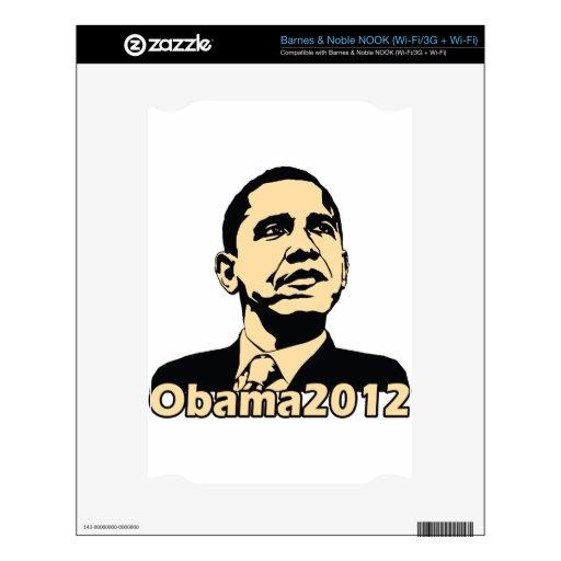 Obama2012 NOOK Skin