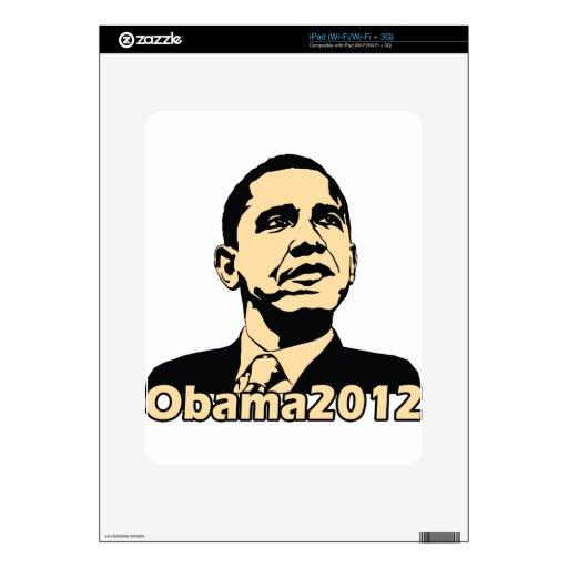 Obama2012 iPad Decal