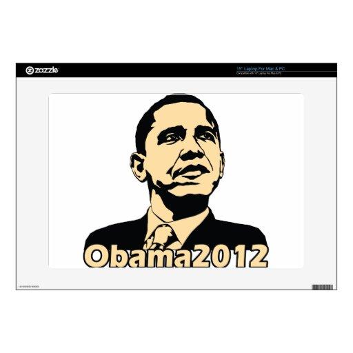 "Obama2012 15"" Laptop Decals"