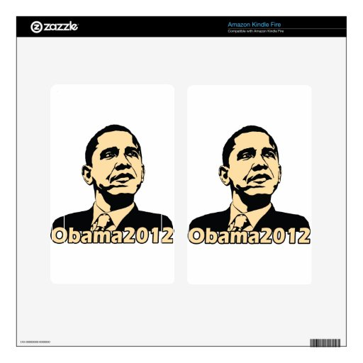 Obama2012 Kindle Fire Skin