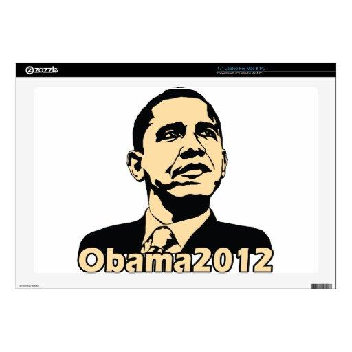 """Obama2012 Skin For 17"""" Laptop"""