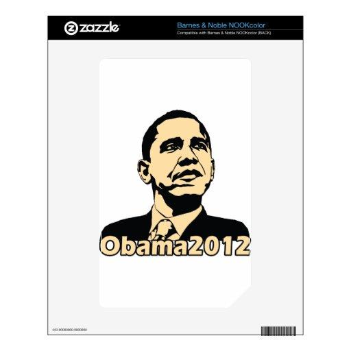 Obama2012 NOOK Color Decals