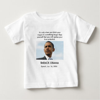 obama22_16604051, It's only when y... - Customized Baby T-Shirt