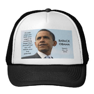 obama22_16604051, It's only when you hitch your... Trucker Hat
