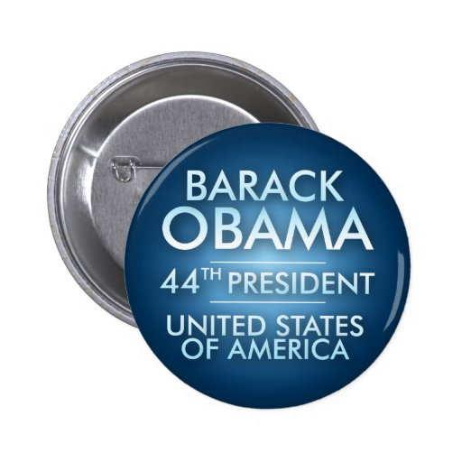 obama44th pinback button