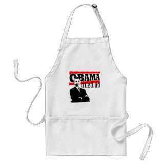 Obama 01.20.09 adult apron