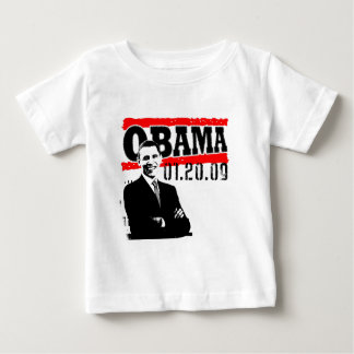 Obama 01.20.09 baby T-Shirt