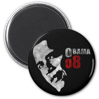 Obama 08 2 inch round magnet