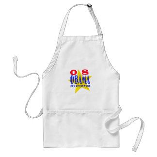Obama 08   adult apron