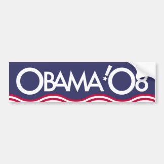 OBAMA '08 BUMPER STICKER