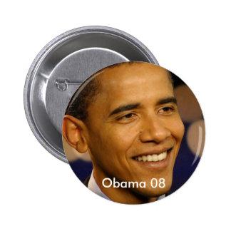 Obama 08 2 inch round button