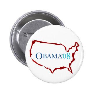 Obama 08 Button