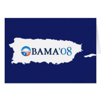 Obama '08 card