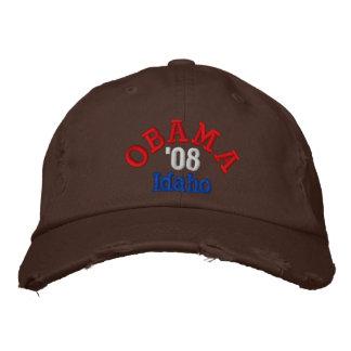 Obama '08 Idaho Hat Embroidered Baseball Cap