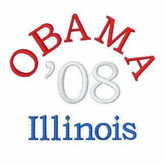Obama '08 Illinois Embroidered Jacket