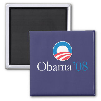 Obama 08 fridge magnet