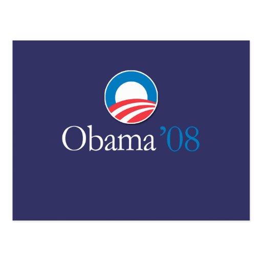 Obama '08 postal
