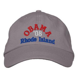 Obama 08 Rhode Island Hat Embroidered Baseball Caps