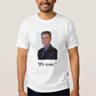 "Obama 08 S. Smith ""It's over"" T Shirt"