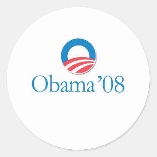 Obama '08 stickers
