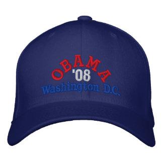 Obama '08 Washington D.C. Hat Embroidered Baseball Cap
