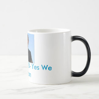 Obama '08- Yes We Can Magic Mug