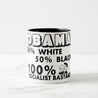 Obama: 100% Socialist Bastard! Mugs