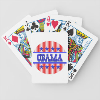 Obama 1012 by Valxart.com Bicycle Playing Cards