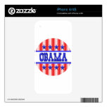 Obama 1012 by Valxart.com iPhone 4 Decals