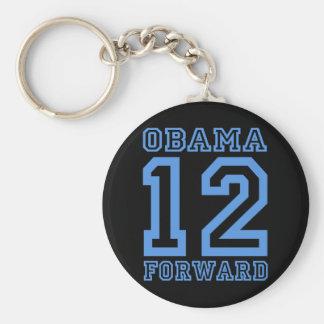 Obama 12 adelante llaveros personalizados
