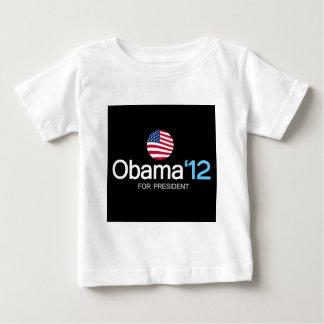 obama '12 for president baby T-Shirt