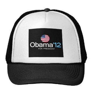 obama '12 for president trucker hat