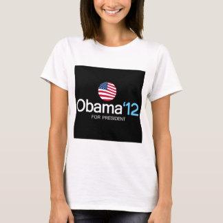 obama '12 for president T-Shirt