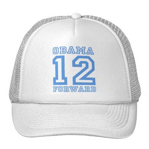 Obama 12 forward hat
