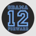 Obama 12 forward stickers
