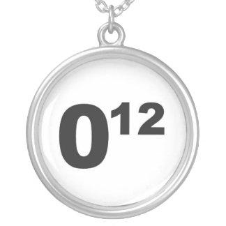 Obama 12 necklace