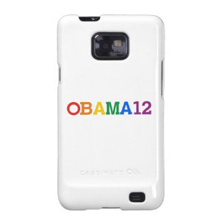 Obama 12 Rainbow Galaxy S2 Cover